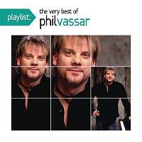 Přední strana obalu CD Playlist: The Very Best Of Phil Vassar