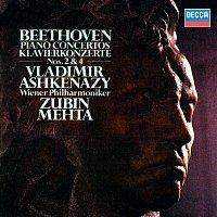 Vladimír Ashkenazy, Wiener Philharmoniker, Zubin Mehta – Beethoven: Piano Concertos Nos. 2 & 4