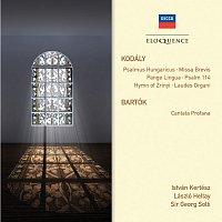 Přední strana obalu CD Kodaly: Psalmus Hungaricus; Missa Brevis; Pange Lingua; Psalm 114; Hymn of Zrinyi; Laudes Organi. Bartok: Cantata profana