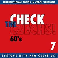 Přední strana obalu CD Check The Czechs! 60. léta - zahraniční songy v domácích verzích 7