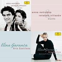 Přední strana obalu CD Pre-Release Duets Album & Aria Cantilena