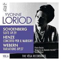Yvonne Loriod, Marcel Naulais, Guy Deplus, Louis Montaigne, Jacques Ghestem – Schoenberg: Suite, Op. 29  / Henze: Concerto per il Marigny / Webern: Variations, Op. 27