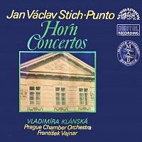 Přední strana obalu CD Stich-Punto: Koncerty pro lesní roh a orchestr