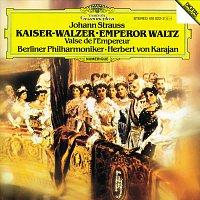 Berliner Philharmoniker, Herbert von Karajan – Strauss, Johann: Emperor Waltz; Tritsch-Tratsch-Polka; Roses From The South; The Gypsy Baron (Overture); Annen Polka; Wine, Women And Song; Hunting Polka