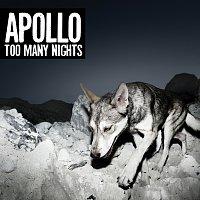 Přední strana obalu CD Too Many Nights