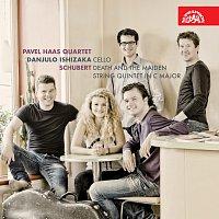 """Přední strana obalu CD Schubert: Smyčcový kvartet č. 14 d moll """"Smrt a dívka"""", Kvintet C dur"""