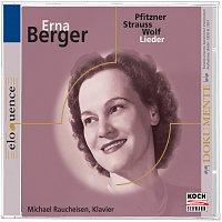 Erna Berger – Berger singt Pflitzner-,  Strauss-, Wolf-Lieder