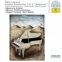 """Maurizio Pollini, Wiener Philharmoniker, Eugen Jochum, Karl Bohm – Beethoven: Piano Concertos Nos.2 & 5 """"Emperor"""""""