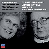 "Alfred Brendel, Wiener Philharmoniker, Simon Rattle – Beethoven: Piano Concerto No.5; Piano Sonata Op.57, ""Appassionata"""