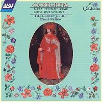 Přední strana obalu CD Ockeghem: Missa l'homme arme / Missa sine nomine