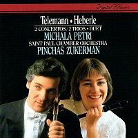 Michala Petri, Pinchas Zukerman – Telemann: Concerto In A minor; Duet In C; Trio Sonatas / Heberle: Recorder Concerto In G