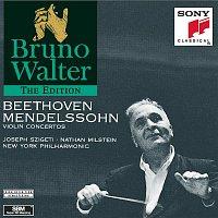 Bruno Walter, Felix Mendelssohn-Bartholdy, New York Philharmonic Orchestra, Nathan Milstein – Beethoven & Mendelssohn:  Violin Concertos