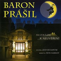 Přední strana obalu CD Muzikál: Baron Prášil