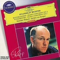 Přední strana obalu CD Rachmaninov: Piano Concerto No.2 / Tchaikovsky: Piano Concerto No.1