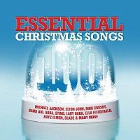 Přední strana obalu CD 100 Essential Christmas Songs