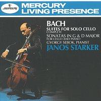 János Starker, Gyorgy Sebok – Bach, J.S.: Suites for Solo Cello/2 Cello Sonatas [2 CDs]