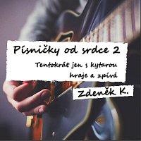 Přední strana obalu CD Písničky od srdce 2