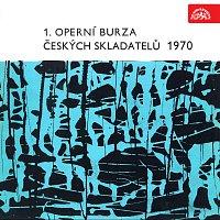 Přední strana obalu CD 1. operní burza českých skladatelů 1970