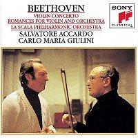 Carlo Maria Giulini, Salvatore Accardo – Beethoven:  Concerto for Violin and Orchestra & Romances for Violin and Orchestra
