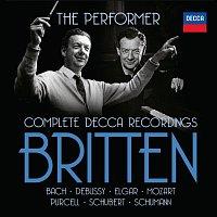 Přední strana obalu CD Britten The Performer