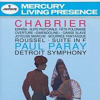 """Detroit Symphony Orchestra, Paul Paray – Chabrier: Espana; Suite pastorale; Fete Polonaise; Overture """"Gwendoline""""; Danse Slave; Roussel: Suite in F"""