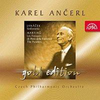 Přední strana obalu CD Ančerl Gold Edition 24. Janáček: Sinfonietta - Martinů: Fresky Piera della Francesca, Paraboly