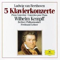Wilhelm Kempff, Berliner Philharmoniker, Ferdinand Leitner – Beethoven: 5 Piano Concertos [3 CD's]
