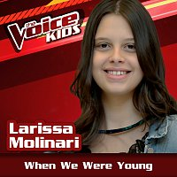 Larissa Molinari – When We Were Young [Ao Vivo / The Voice Brasil Kids 2017]
