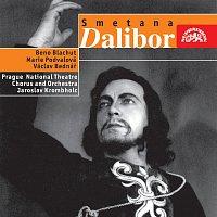 Přední strana obalu CD Smetana: Dalibor. Opera o 3 dějstvích - komplet