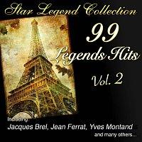 Přední strana obalu CD Star Legend Collection: 99 Legends Hits Vol. 2