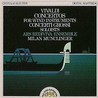 Přední strana obalu CD Vivaldi: Koncerty pro dechové nástroje