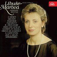 Přední strana obalu CD Libuše Márová Operní recitál