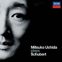Přední strana obalu CD Mitsuko Uchida plays Schubert