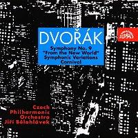 """Česká filharmonie, Jiří Bělohlávek – Dvořák: Symfonie č. 9 """"Z Nového světa"""", Karneval, Symfonické variace"""