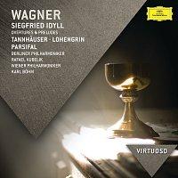 Berliner Philharmoniker, Rafael Kubelík, Wiener Philharmoniker, Karl Bohm – Wagner: Siegfried Idyll; Overtures & Preludes