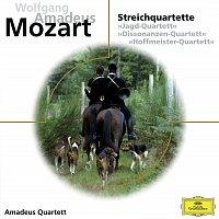 "Amadeus Quartet – Mozart, Streichquartette ""Jagd-Quartett"", ""Dissonanzen-Quartett"", ""Hoffmeister-Quartett"""