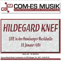 Hildegard Knef – Live in der Hamburger Musikhalle, 28. Januar 1986