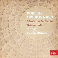 Přední strana obalu CD Publius Ovidius Naso Básník o svém životě/ Ovidius radí...