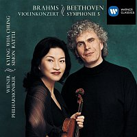 Sir Simon Rattle, Kyung-Wha Chung, Wiener Philharmoniker – Beethoven:Symphony no.5 in C minor/Brahms:Violin Concerto in D