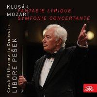 Přední strana obalu CD Fantasie lyrique - Symfonie Concertante LIVE