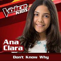 Ana Clara – Don't Know Why [Ao Vivo / The Voice Brasil Kids 2017]