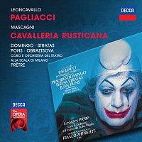 Placido Domingo, Teresa Stratas, Elena Obraztsova, Juan Pons, Georges Pretre – Leoncavallo: Pagliacci / Mascagni: Cavalleria Rusticana