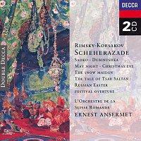 Přední strana obalu CD Rimsky-Korsakov: Scheherazade, etc.
