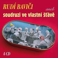 Přední strana obalu CD Rudí baviči aneb soudruzi ve vlastní šťávě (Box 4 CD)