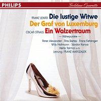 Přední strana obalu CD Die lustige Witwe - Ein Walzertraum - Der Graf von Luxemburg