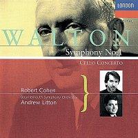 Andrew Litton, Robert Cohen, Bournemouth Symphony Orchestra – Walton: Cello Concerto; Symphony No. 1