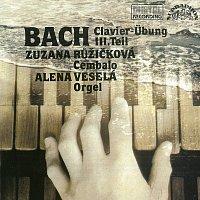 Přední strana obalu CD Bach: Chorálové předehry a cvičení pro klávesový nástroj