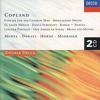 Zubin Mehta, Antal Dorati, Sir Neville Marriner – Copland: Appalachian Spring; Lincoln Portrait; Fanfare; Rodeo, etc.