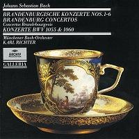 Munchener Bach-Orchester, Karl Richter – J.S. Bach: Brandenburg Concertos Nos. 1 - 6 · Concertos BWV 1055 & 1060