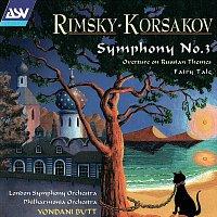 "London Symphony Orchestra, Philharmonia Orchestra, Yondani Butt – Rimsky-Korsakov: Symphony No. 3; Overture on Russian Themes; Fairy Tale ""Skazka"""